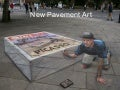 New 3D Pavement Art