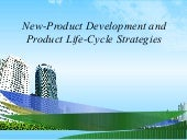New product development and product...