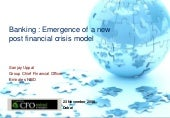 Banking : Emergence of a new post f...