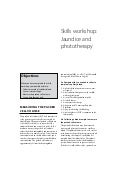 Newborn Care: Skills workshop Jaundice and phototherapy