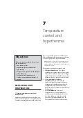 Newborn Care: Temperature control and hypothermia