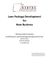 Start Up Business Loan Packet from ...