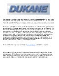 New Dukane DLP Projectors