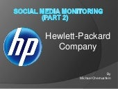 New hewlett packard company
