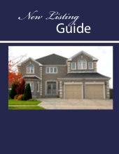 New listing guide for Homeowners