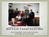 New location for Bayfair Toastmasters