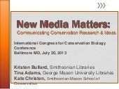 New Media Matters: Communicating Co...