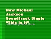 New Michael Jackson Soundtrack Single