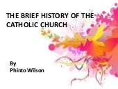 A Brief History of Catholic church