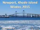 Newport, Rhode Island Ice and Snow -- February 28, 2015