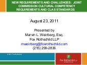 New Requirements And Challenges   J...