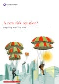 New risk equation. Grant Thornton UK Report