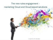 The New Rules of Marketing for Cloud Technologies