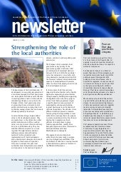 EU Delegation newsletter focuses on...