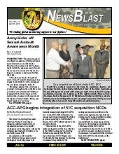 Army Contracting NewsBlast April 10...