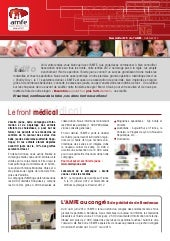 Newsletter 5 de l'AMFE - Octobre 2012