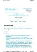 Senology Newsletter - May 8, 2012