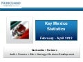 Key Mexico Statistics February - April 2012