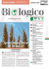 Newsletter Il Biologico  2012 sette...