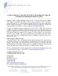 News Release: Filing of NI43-101 Report for Upper Fir Tantalum & Niobium Project