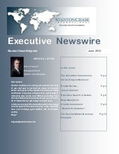 Executive Newswire june 2013 - Belg...