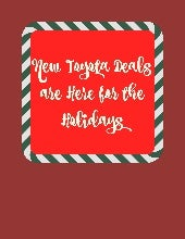 New Toyota deals at Toyota of N Charlotte