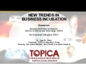 New trends in incubation