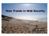 New Trends in Web Security