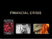 current economic and financial crisis