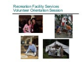 New volunteer orientation2010 ppt