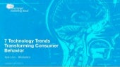 7 Technology Trends Transforming Consumer Behavior - Updated