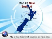 New Zealand Powerpoint (PPT) Maps