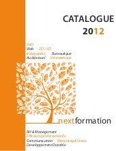 Nextformation - Catalogue des forma...