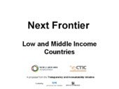 Next Open Data frontier: Low and Mi...