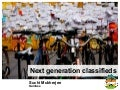 Next Generation Classifieds - ICMA 2010