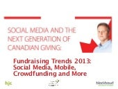 Fundraising Trends and the Next Gen...