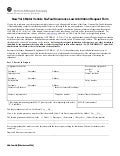 NF Arbitration Request Form