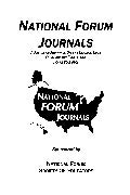 Dr. William Allan Kritsonis, Editor-in-Chief, NATIONAL FORUM JOURNALS, www.nationalforum.com (Founded 1982)