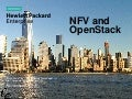 NFV and OpenStack