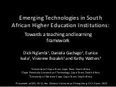 Emerging Technologies in South Afri...