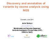 Discovery and annotation of variant...