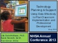 Technology Planning & Support:  Using Data Effectively to Plan Classroom Implementation and Professional Development, by Dale McManis, Karen Nemeth, and Fran Simon