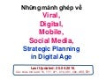 Những mảnh ghép về Viral, Digital, Social Media & Strategic Planning in Digital Age