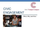Civic Engagement: What, Why and How...