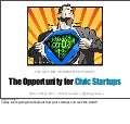 The Opportunity for Civic Startups (Long - Web 2.0 Expo)