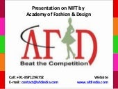 NIFT - courses, facilities, academi...