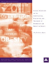 Nih the evidence report on obesity ...
