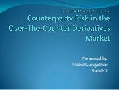 Counterparty Risk in the Over-The-C...