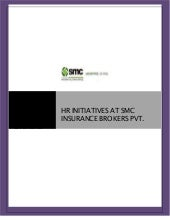 HR INITIATIVES AT SMC INSURANCE BRO...