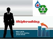 Ship breaking industry